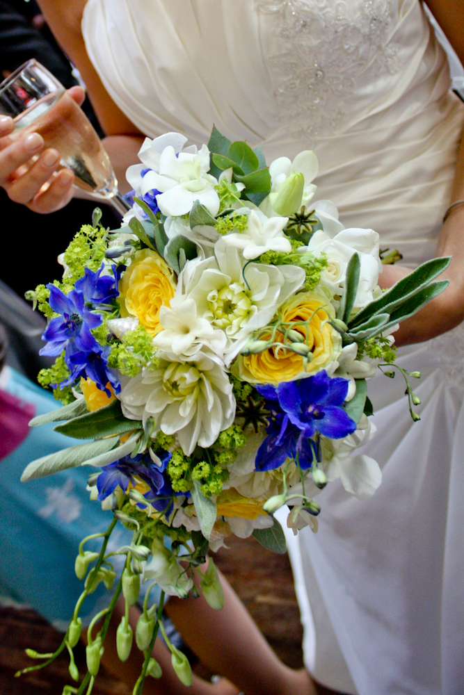 Beach Themed Bridal Flowers 20